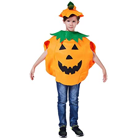 Titcch Halloween Lantern Face Calabaza Disfraz Set para Familia ...