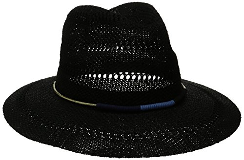 san-diego-hat-company-womens-knitted-panama-fedora-gold-cord-trim-black-one-size