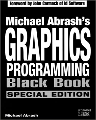 Michael Abrash's Graphics Programming Black Book (Special Edition)