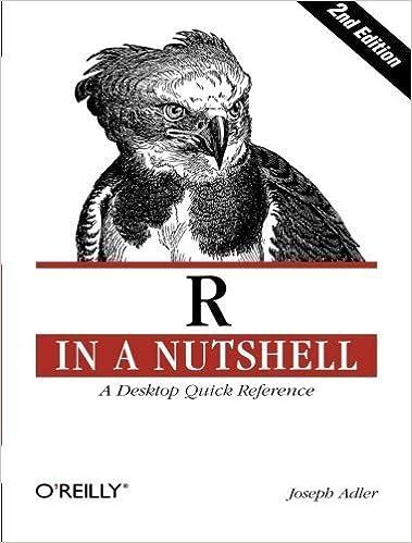 Book R in a Nutshell by Adler, Joseph (2012)