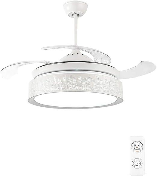 Fan Light Ventilador - LáMpara De ArañA - Altavoz PequeñO ...