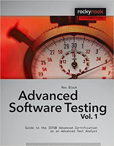 Image result for Advanced Software Testing - Vol. 1: Guide to the ISTQB Advanced Certification as an Advanced Test Analyst