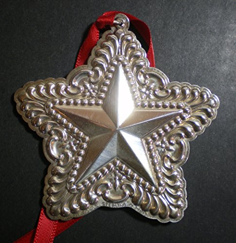 (2003 Towle Old Master Star Sterling Christmas Ornament 7th Edition)