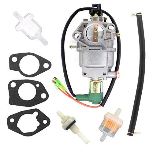 USPEEDA Carb Carburetor For RIGID HOMELITE Style Generator 099958001707 Fuel Filter