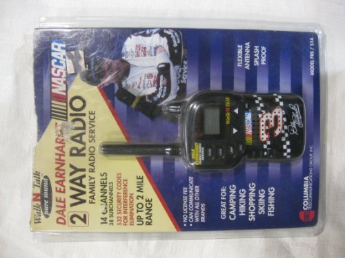 2 Way Radio Dale Earnhardt Nascar
