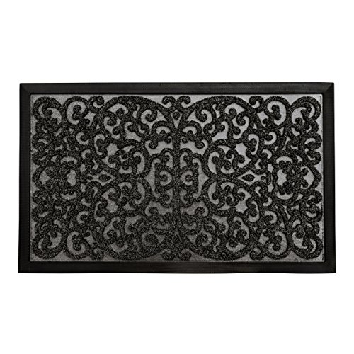 gbHome GH-6761B Premium Quality Indoor Mat | 24 x 36 inches | Interior Doormat with Anti-Skid Rubber Back | Water Absorbent, Stain Resistant, Quick Drying, Easy to Clean, Low Profile Door Mat by gbHome