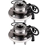 #8: Scitoo Wheel Hub Bearing and Hub Assembly Rims Fits Dodge Journey 2009-2017 Rear Wheel With 5 Bolts 512478 Packs of 2