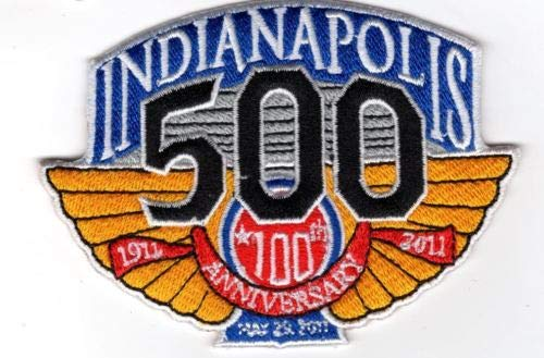 IMS INDY 500 Indianapolis Motor Speedway 100TH Anniversary Embroidered Patch 4