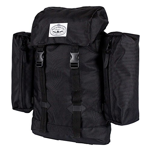 Poler Unisex Classic Rucksack Bag, black, One Size