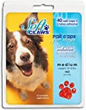 Soft Claws Nail Caps for Dogs Red, XX-Large 40ct
