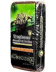 Galapagos 05010 Tropicoco Coconut Soil Bedding, 8-Quart, Natural