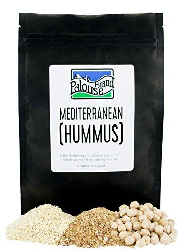 Single Recipe Mediterranean Hummus Makes