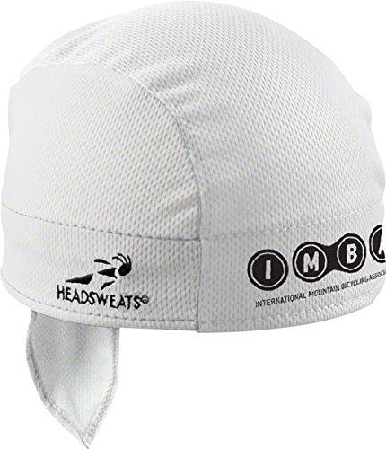 Headsweats 11807-801S IMBA Shorty Sweat Band, White, One ()