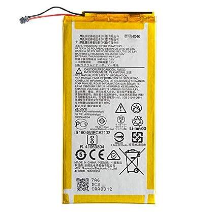 RJR 3000 mAh Compatible Battery for Motorola Moto X4: Amazon