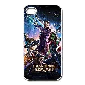 Nerd Guardians Galaxy IPhone 4/4s Hard Plastic Case Anti Slip