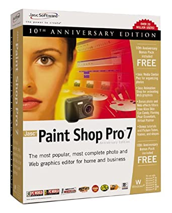 Tutorial: screen captures with paint shop pro.