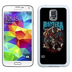 Unique Phone Case Pantera Galaxy S5 Wallpaper in White