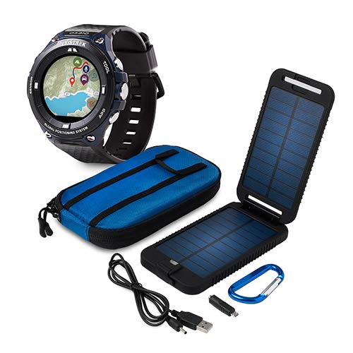 Casio Special Promotion WSD-F20A-BUPT Pro Trek Power Traveller Bundle Smartwatch
