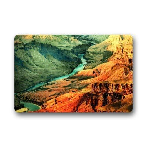 Red Rug Grand Trunk - Beautiful Grand Canyon Non-Slip Rubber Door mat Floor Doormats 31.4 X 19.6 Inch(80x50cm)