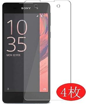 VacFun 4 Piezas HD Claro Protector de Pantalla para Sony Xperia E5 ...