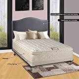 Continental Sleep 10'' Pillowtop Fully Assembled Othopedic Twin XL Mattress &4'' Box Spring, Deluxe Collection