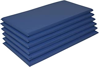 """product image for 6 Pack 2"""" Thick Non-Folding 10 mil Vinyl Rest Mat"""