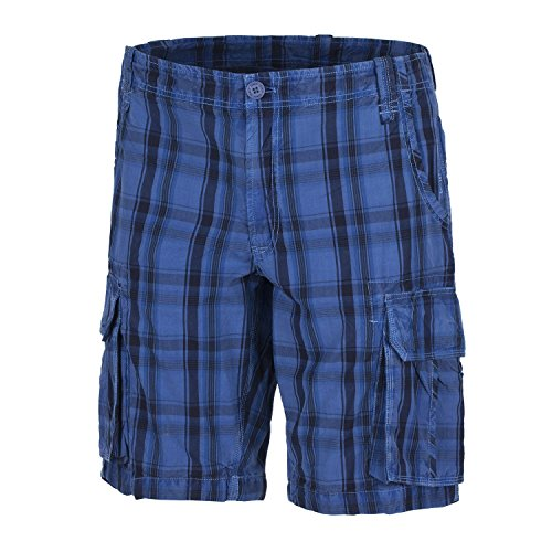 CMP Walkshort kurze Hose Freizeithose blau Seitentaschen Regular Fit