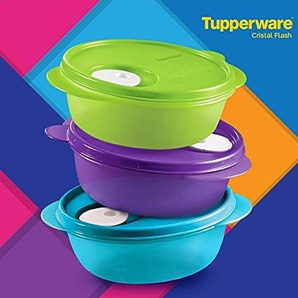 Amazoncom Tupperware Crystalwave Microwave Container Set 3