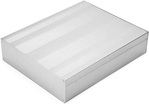 Chorro de Arena Instrumento de Placa de Circuito Impreso Caja de Aluminio Caja de Proyecto Electrónico: Amazon.es: Bricolaje y herramientas