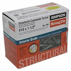 Simpson Structural Screws SD10112R100 No...