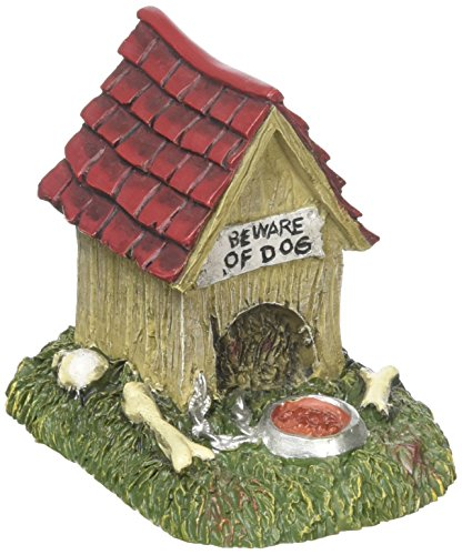 Department 56 Accessories for Villages Halloween Creepy Creatures Dog House Accessory Figurine, 2.5 inch]()
