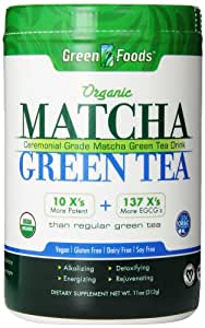 Green Foods Matcha Green Tea, 11 Ounce
