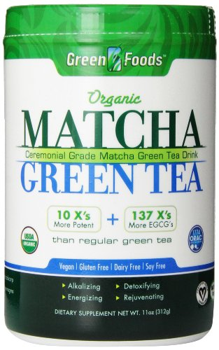 Green Foods Matcha Green Tea, 11 Ounce (Foods Green)