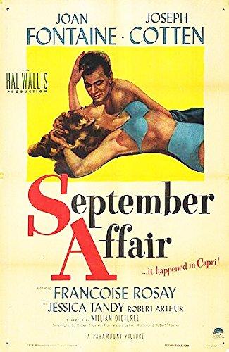 September Affair NTSC DVD Joan Fontaine Joseph Cotten Francoise Rosay