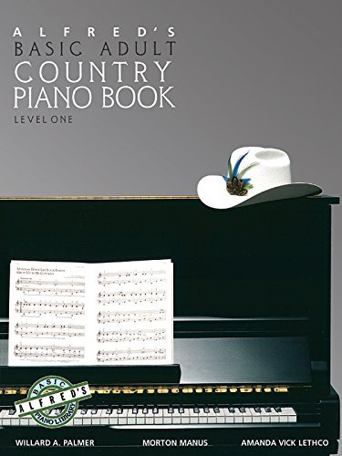 Alfred's Basic Adult Piano Course, Country Songbook: Level 1 - Keyboard Songbook 1 Level