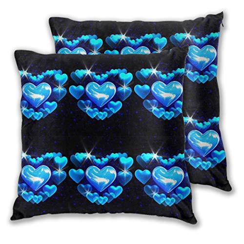 Jacktomson Buonanotte Amici Pack of 2,Square Throw Pillow Covers Set Couch Cushion Case for Sofa Bedroom Car