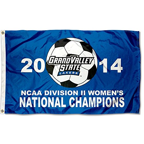 Grand Valley State 2014 Soccer Champions Flag by College Flags and Banners Co.