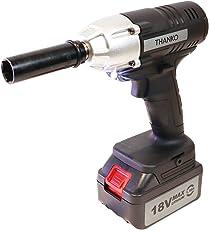 THANKO ホイール交換楽々、高トルク280Nm「充電式電動インパクトレンチ」SCEIW18V