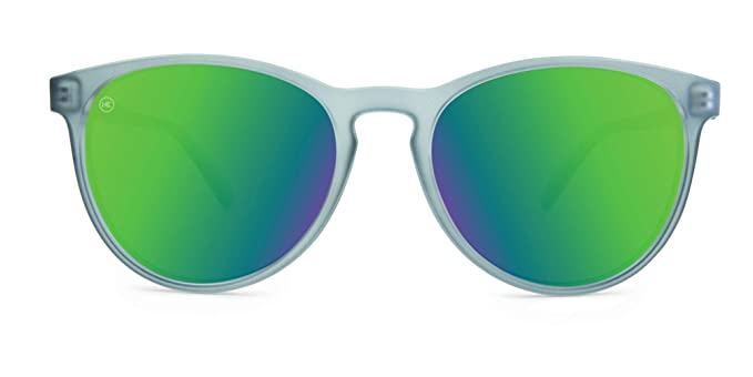 Knockaround Mai Tais no polarizado gafas de sol (Frosted Grey/Green Moonshine): Amazon.es: Ropa y accesorios