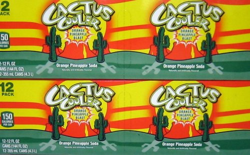 7-UP Cactus Cooler Soft Drink, 12-Ounce (Pack of 24)]()