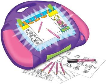 Crayola Creaciones Lumie Mesa de luz: Amazon.es: Juguetes y juegos