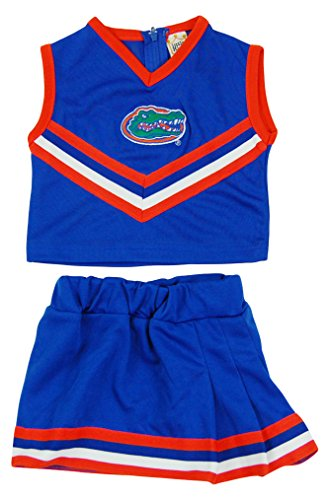 Sports Costumes For Girls (NCAA Florida Gators Two Piece Cheer Dress, Size 6, Royal)