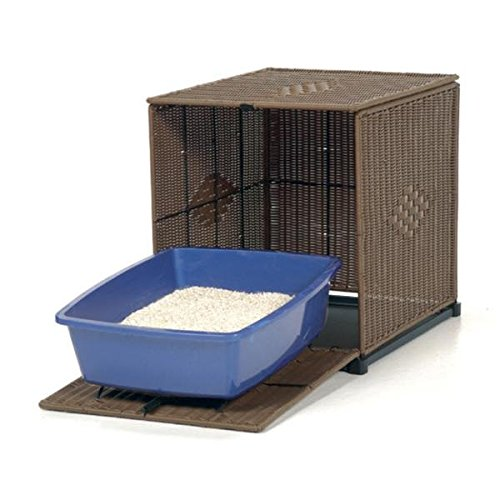 Cat Litter Box Furniture & EBOOK HOW TO TRAIN YOUR CAT BY RIO CENTER,Hidden Litter Box,Kitty Litter Box,Best Decorative Cat Litter Box-Is a Stylish Litter Box Cover Choice For All Feline Lovers. by CENTER