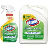 Clorox Clean-Up Cleaner Spray with Bleach and Refill Combo, 32 Ounce Spray Bottle + 180 Ounce Refill