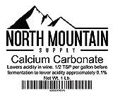 North Mountain Supply 849731091211 Food Grade Calcium Carbonate – 1 Pound Bag