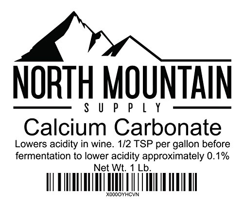 North Mountain Supply Food Grade Calcium Carbonate 1 Pound (Mountain Chalk Bag)