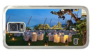 Hipster Samsung Galaxy S5 Case crazy Dinner Candle PC Transparent for Samsung S5