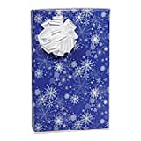 Snowy Night 24in.x417ft. Gift Wrap Counter Roll - 1 Roll