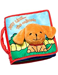 Cloth Book Baby Gift, Soft Books for Newborn Babies, 1...