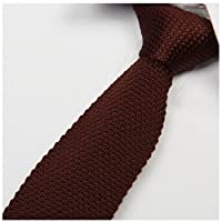 L&C®High Quality Men's Fashion Tie Knit Knitted Tie Slim Skinny Woven UK Seller